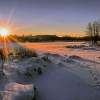 Зима и солнце. :: Алла Мещерякова