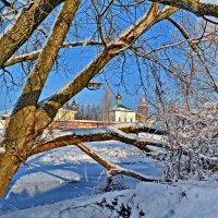 Зима в Боровичах. :: Константин Иванов