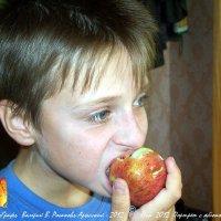 Портрет с яблоком :: Валерий Викторович РОГАНОВ-АРЫССКИЙ