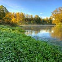 Первые осенние деньки на реке. :: Nikita Volkov