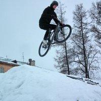 Прыжок в длину :: Дмитрий Ерохин