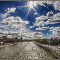 Городские облака :: Алексей Соминский