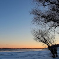 Зимний вечер на Волге :: Dr. Olver
