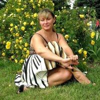 Алиса на полянке :: Sergey Atmo Atmozh