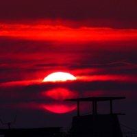 Восход Солнца. :: Виктор Мозгунов