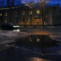 Новогодние лужи :: Виктор Берёзкин