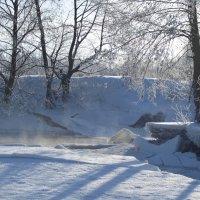 Зимой на речке :: Андрей Зайцев