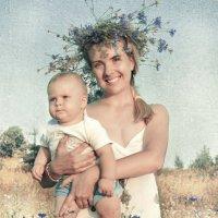 Как синее небо, цветки – васильки! :: Наталия Полибина