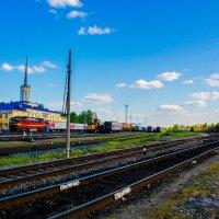 Рельсы-рельсы, шпалы,поезд... Пути... :: Артём Бояринцев