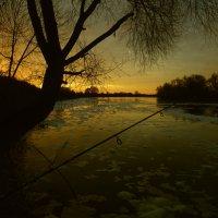 Последние осенние дни на рыбалке :: Александр Головко