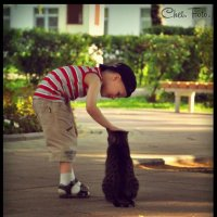 Хороший котик :: Анастасия Сусманова