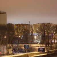Городской пейзаж :: Андрей Бакунин