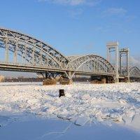 Финляндский ж/д мост через Неву :: Виктор