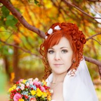 осенняя свадьба :: Юлия Шестоперова