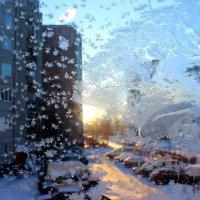 Кружева на моем окне - 1 :: Оксана Рубан