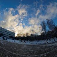 Январское небо :: Игорь Герман