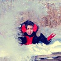 Элиза # Снег :: Виктория