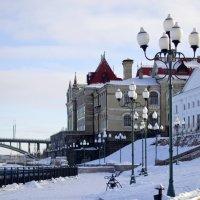 Город в снегу :: D. Matyushin.