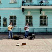 Музыканты на Старом Арбате. Москва :: Ольга Кривых