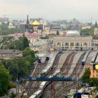 Вид на вокзал. Одесса :: Ирина Давыдовская