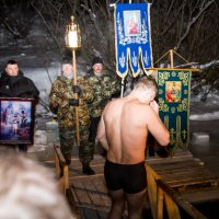 Астахов перед прорубью :: Анатолий Брусенцов