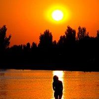 Танец на воде.... :: Носов Юрий