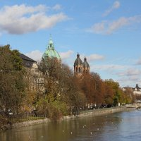 Мюнхен, река Изар :: Елена Троян