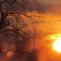 закат за окном :: Фотиния М