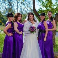 Фиолетовая свадьба :: Андрей Гуров