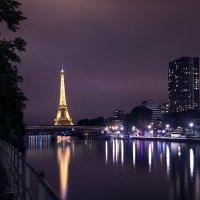 Вечерний Париж. :: Эльвира Лопатина