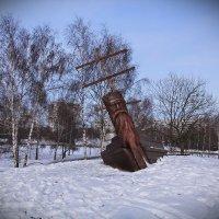 Деревянная скульптура. :: Nonna