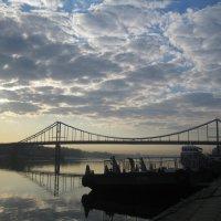 Киев.Утро на Днепре. :: Алина Тазова