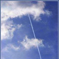 Сшивая облака... :: Владимир Секерко