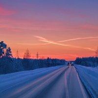 По дороге домой. :: Алексей Хаустов