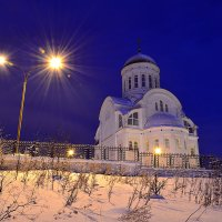Храм перед рассветом. :: Виталий Дарханов