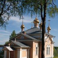 Важеозерский мужской монастырь. :: Николай Тренин