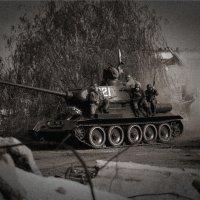 Т-34-85 в Сталинграде :: Максим Бочков