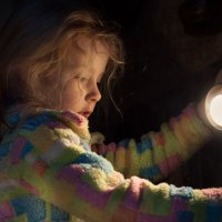 В темноте гуляют страхи, мы избавимся от них! :: Ирина Данилова