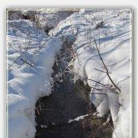 бежит  ручей, пока ничей ... :: Анатолий Островский