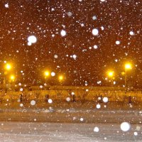 И падал белый снег... :: Галина Мухина
