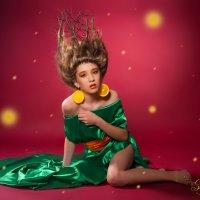 Апельсиновая девочка :: Юлия Хапугина