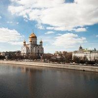над Москвой-Рекой :: Galina G