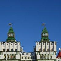 Въездные врата в Измайловский Кремль. :: Ольга