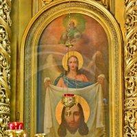 Храм Богоявления в Елохове. Нерукотворный Образ. :: Геннадий Александрович
