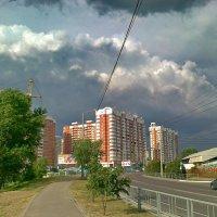 фронт над новым городом :: Алексей Меринов
