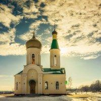 Храм святителя Иоанна Златоуста в с.Графовка :: Игорь Сарапулов