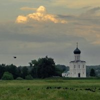 Вечер у Покрова на Нерли! :: Владимир Шошин