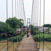 Таиланд. Си Сатчаналай. Мост :: Владимир Шибинский