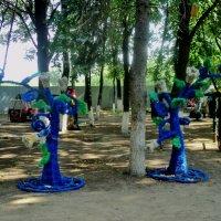 Детская площадка в центральном городском парке Люберцы :: Ольга Кривых