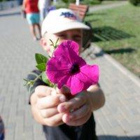 Скромный подарок. :: Любовь Славинская
